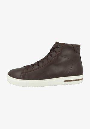 BEND MID NATURLEDER NORMAL - Sneakers hoog - roast 1020723