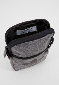 adidas Originals - MEL FEST BAG - Across body bag - black/white - 4