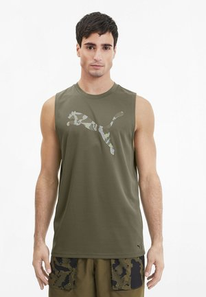FIRST MILE TEE - Sports shirt - burnt olive