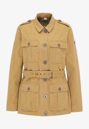 Short coat - dunkelsand