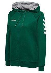 Hummel - HMLGO - Zip-up hoodie - evergreen - 2