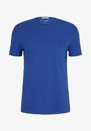 Basic T-shirt - shiny royal non solid