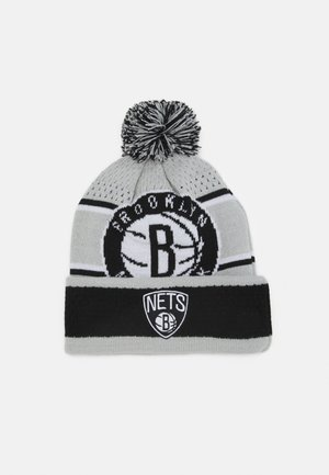 NBA BROOKLYN NETS LOCKER ROOM UNISEX - Gorro - black