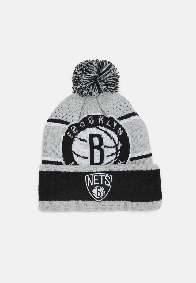 NBA BROOKLYN NETS LOCKER ROOM UNISEX - Čepice - black