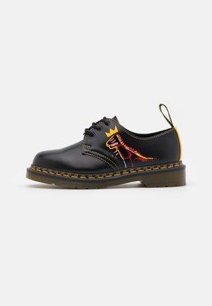 1461 BASQUIAT UNISEX - Šněrovací boty - black