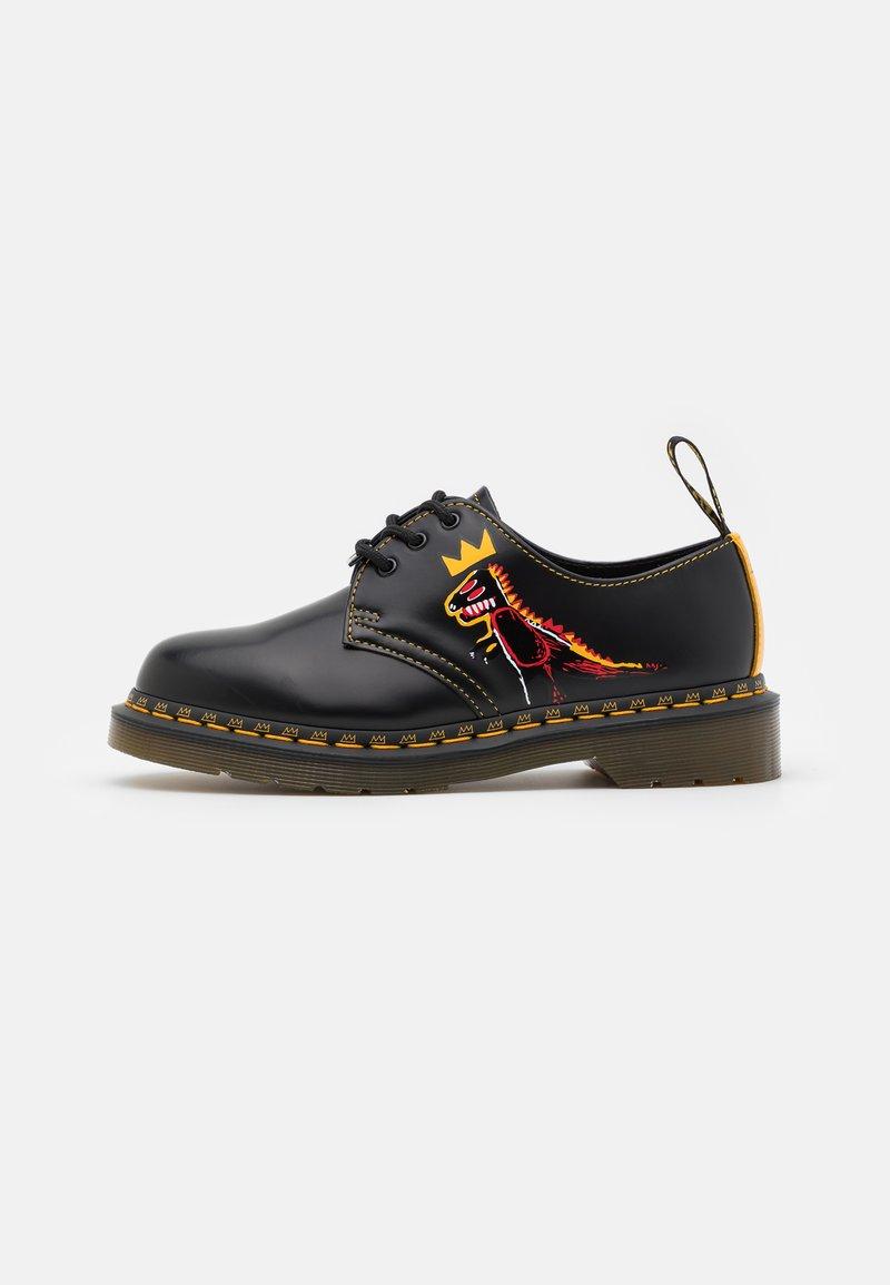 Dr. Martens - 1461 BASQUIAT UNISEX - Šněrovací boty - black