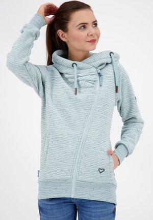 SNAKECHARMERAK - Zip-up hoodie - ice