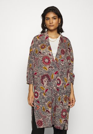 PRINTED ROBE - Summer jacket - dark baltic