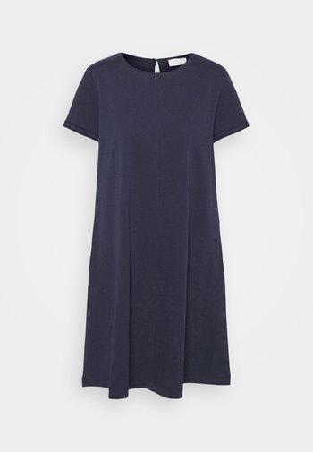NOVAK - Jersey dress - navy