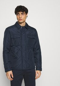 Selected Homme - SLHARVEY QUILTED - Light jacket - sky captain - 0