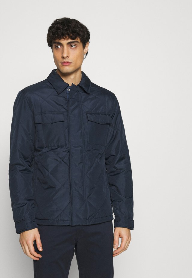 SLHARVEY QUILTED - Light jacket - sky captain