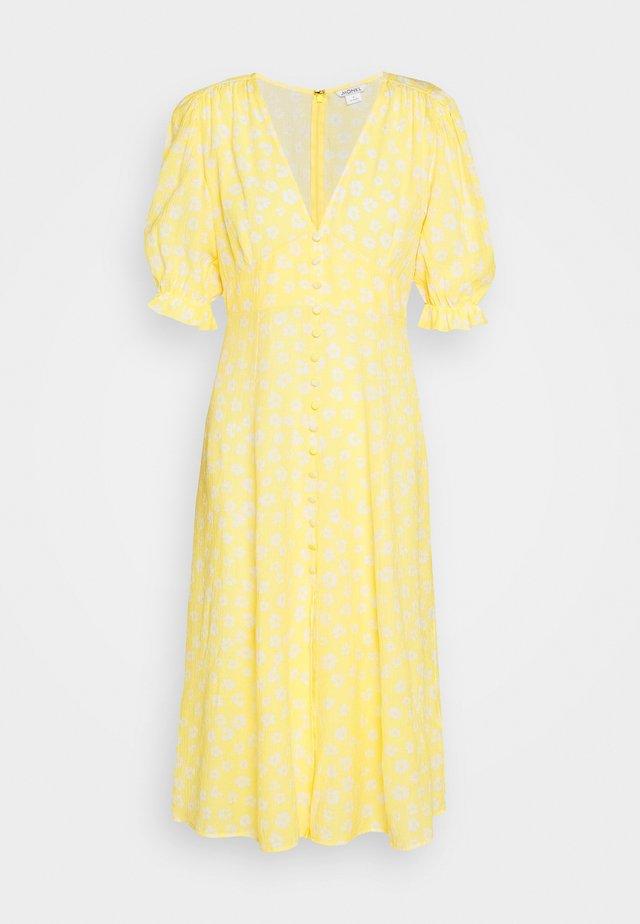 AVRIL DRESS - Shirt dress - yellow