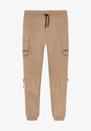 BLOCKED - Tracksuit bottoms - stone light