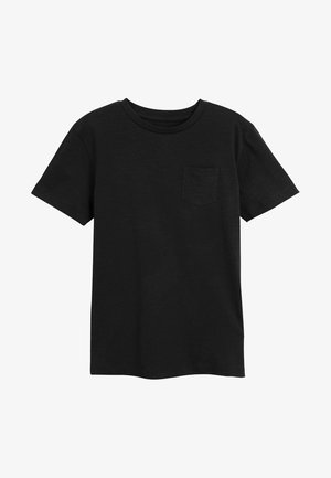 CREW NECK T-SHIRT (3-16YRS) - T-shirt - bas - black