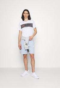 Nike Sportswear - MODERN - Shorts - light armory blue/ice silver/white - 1