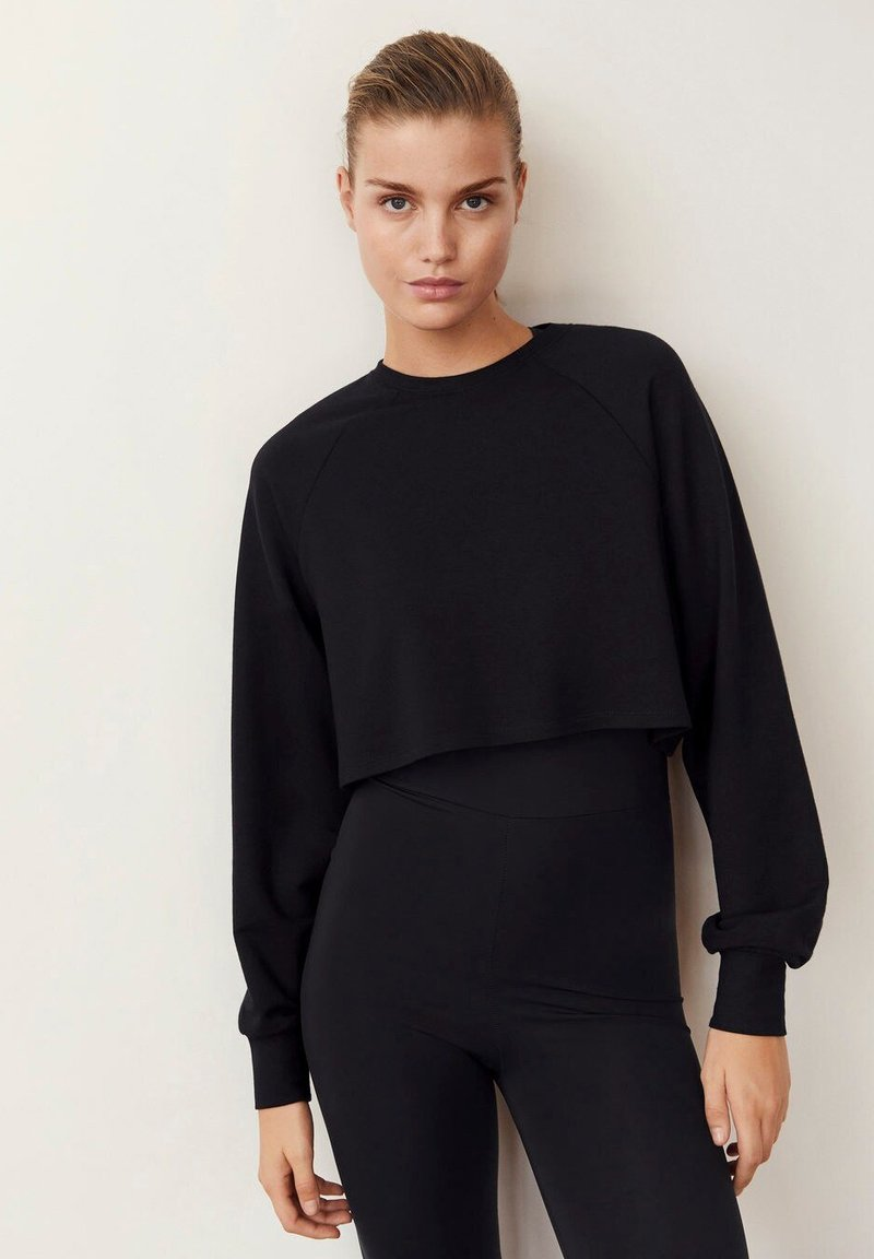 Mango - HYGGE - Sweatshirt - schwarz