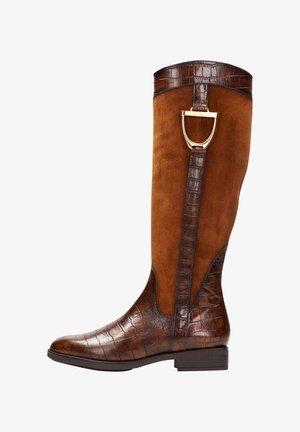 Cowboy/Biker boots - cuero multi