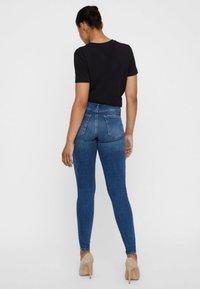 Vero Moda - Jeans Skinny Fit - dark blue - 2