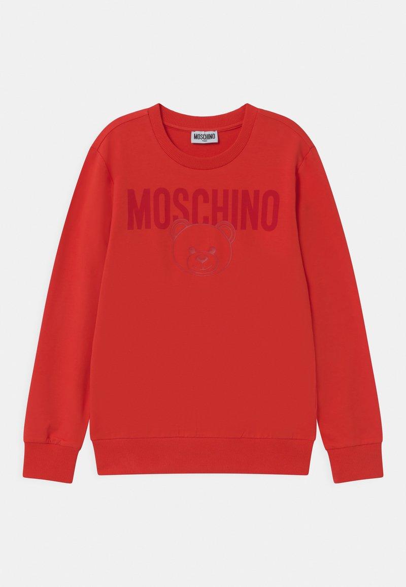 MOSCHINO - UNISEX - Sweatshirt - poppy red
