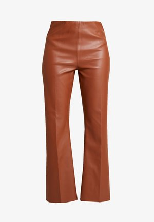 KAYLEE KICKFLARE PANTS - Trousers - mocha bisque