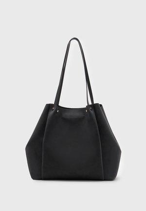 SHOPPER BAG SET - Tote bag - black