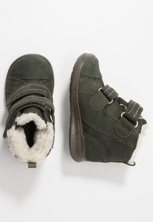 FIRST - Baby shoes - deep forest
