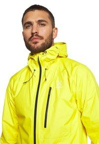 Haglöfs - JACKET MEN - Hardshell jacket - signal yellow - 3