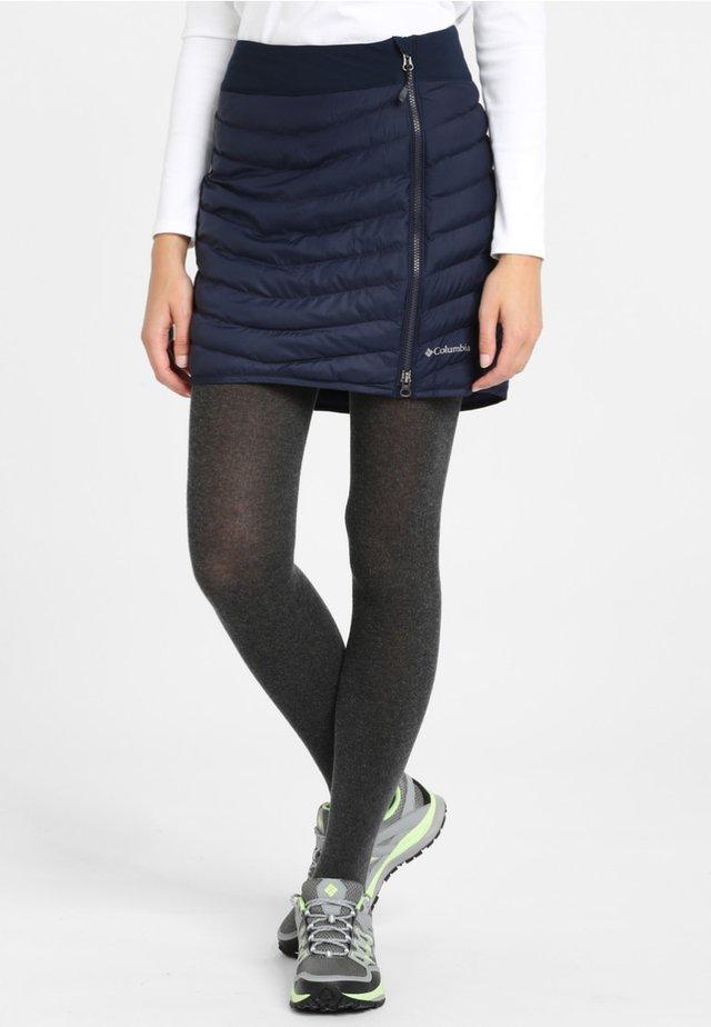 WINDGATES - Mini skirt - dark nocturnal