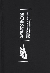 Nike Sportswear - LEGASEE ZIP - Leggings - black/white - 7