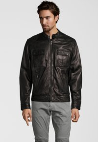Capitano - NEBRASKA  - Leather jacket - black - 0