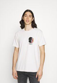 Obey Clothing - PARALLELS - Printtipaita - sago - 0