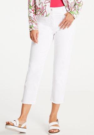 Slim fit jeans - weiß/weiß
