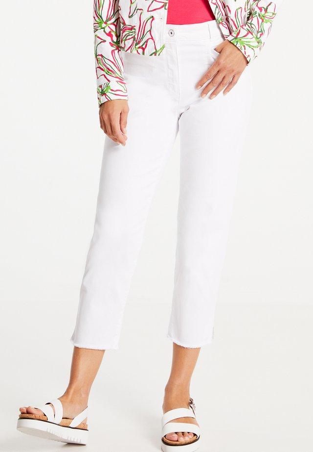Jeans slim fit - weiß/weiß