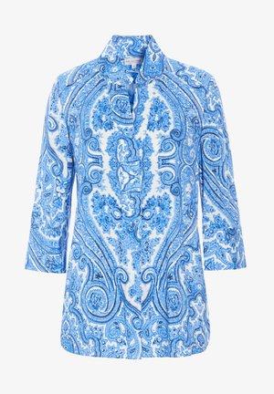 Blouse - paisley blue