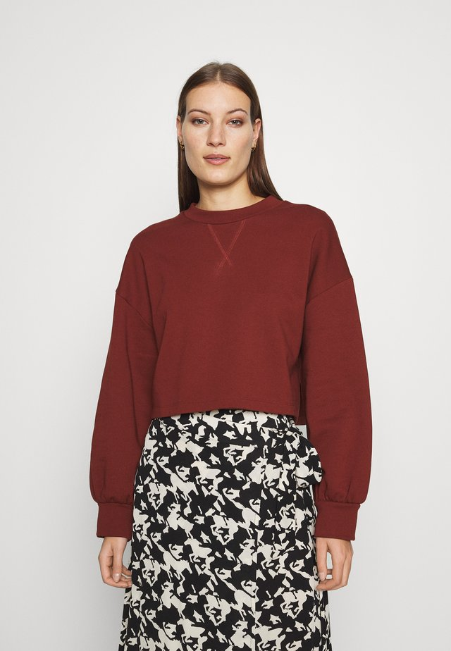 BARUSHKA - Sweatshirt - rose rust
