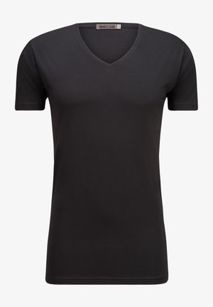 ANTONIO - Basic T-shirt - black
