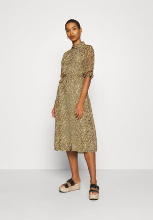 DRESS LONG SHELL - Shirt dress - multi-coloured