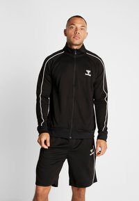 Hummel - ARNE ZIP JACKET - Training jacket - black - 0