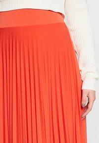 Anna Field Tall - A-Linien-Rock - orange - 4