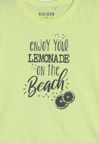 Blue Seven - Camiseta estampada - neon lemon - 3
