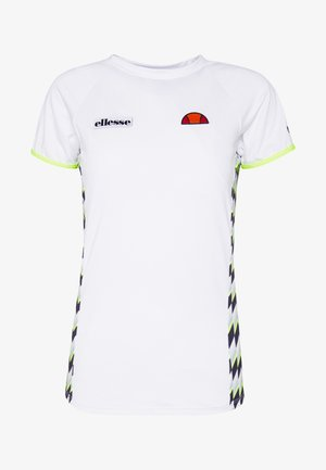 FERVORE - T-shirt med print - white