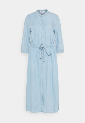 JAINA 3/4 DRESS - Denim dress - light blue wash