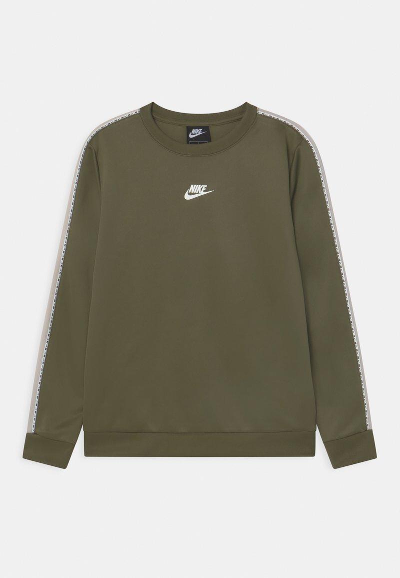 Nike Sportswear - REPEAT CREW - Langærmede T-shirts - khaki
