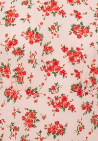 Missguided - FLORAL PUFF SLEEVE SKATER DRESS - Korte jurk - pink - 2