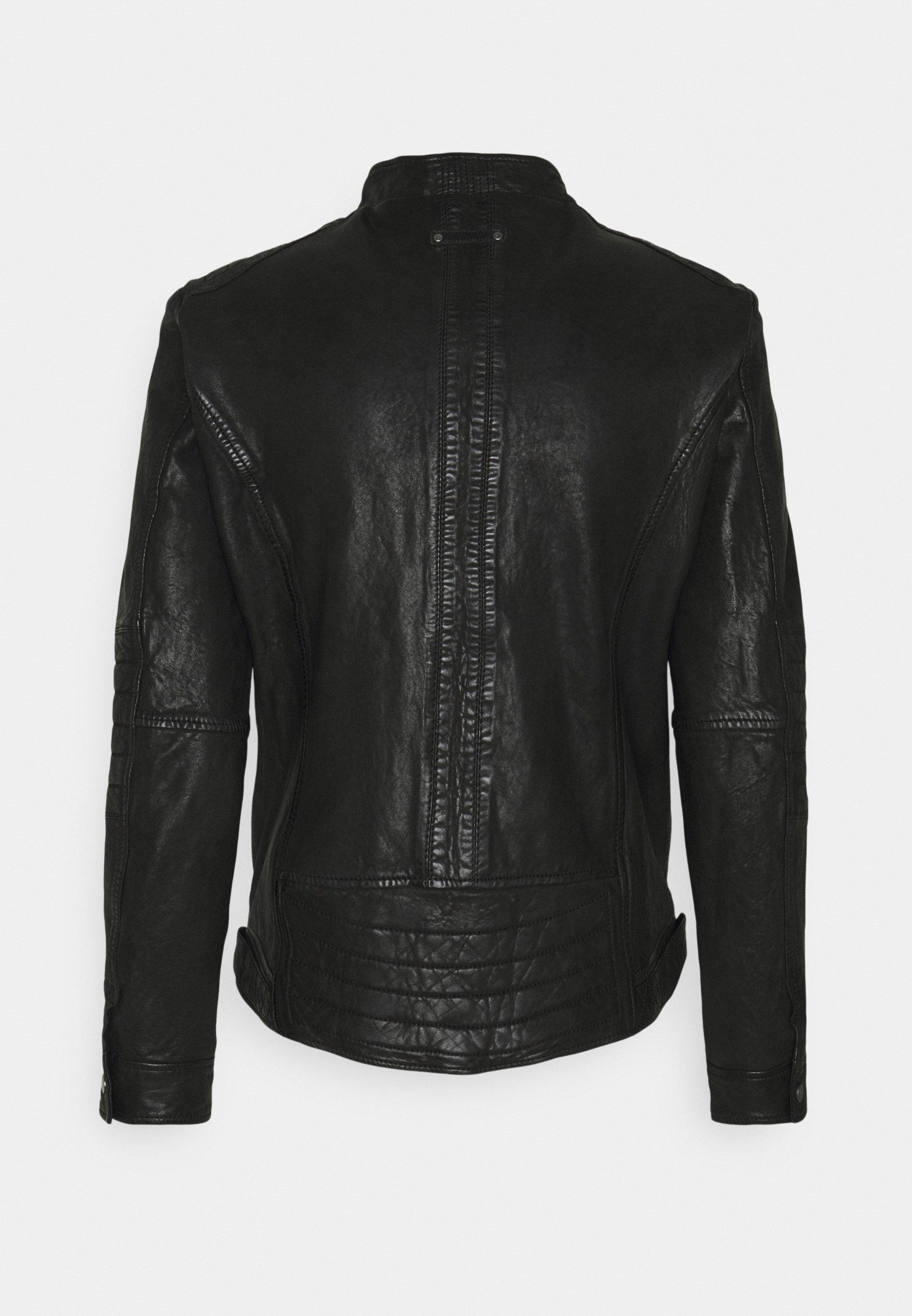 Men BERLIN - Leather jacket
