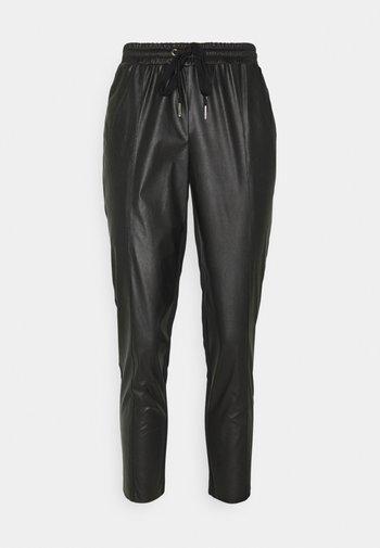 FIBBIA PANTALONE - Trousers - black