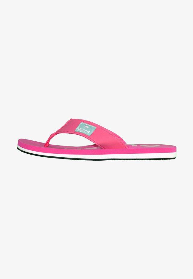 Pool shoes - fuchsia/rosa