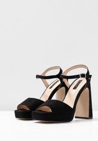 Office - HUSKY - Sandály na vysokém podpatku - black - 4