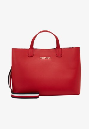ICONIC SATCHEL - Handbag - red