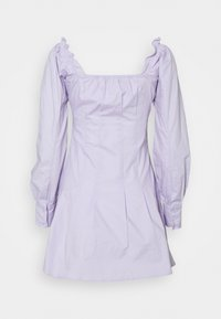 Missguided - CINCHED WAIST BUTTON THROUGH DRESS - Kjole - lilac - 1